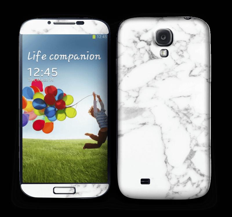 Carrara marble Skin Galaxy S4