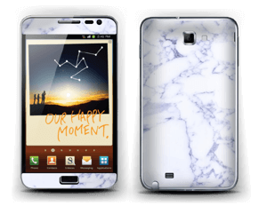 Icy crispy marble Skin Galaxy Note
