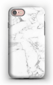 Puhdas marmori kuoret IPhone 7 tough