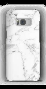 Simpel wit marmer hoesje Galaxy S8