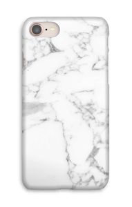 Simpel wit marmer hoesje IPhone 8