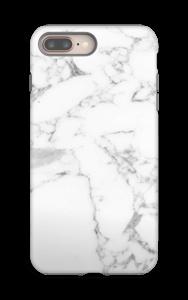 Simpel wit marmer hoesje IPhone 8 Plus tough
