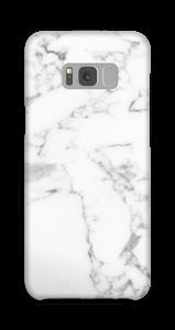 Simpel wit marmer hoesje Galaxy S8 Plus