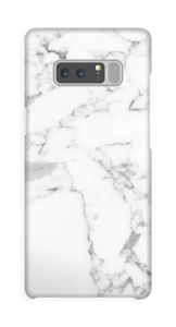Simpel wit marmer hoesje Galaxy Note8