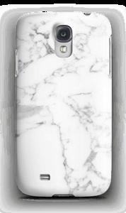 Simpel wit marmer hoesje Galaxy S4