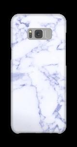 Lila marmer hoesje Galaxy S8 Plus