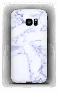 Lila marmer hoesje Galaxy S7 Edge