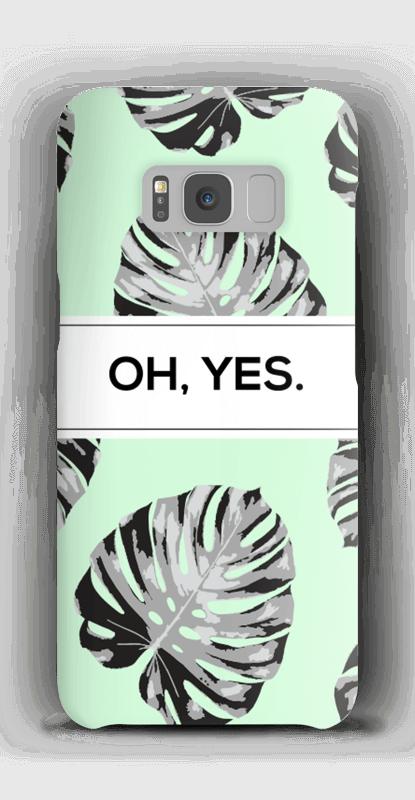 OH, YES. Himmelblau Handyhülle Galaxy S8