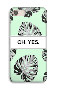 Oh, Yes. Mint hoesje IPhone 8