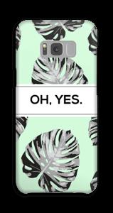 Yes-minttu kuoret Galaxy S8 Plus