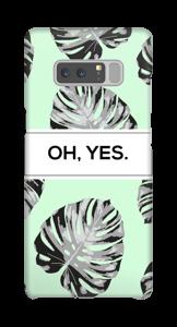 Yes-minttu kuoret Galaxy Note8