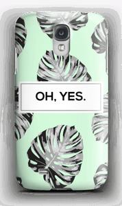 Oh, Yes. Mint hoesje Galaxy S4