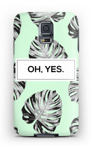 OH, YES. Himmelblau Handyhülle Galaxy S5