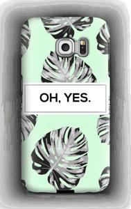 OH, YES. Himmelblau Handyhülle Galaxy S6 Edge