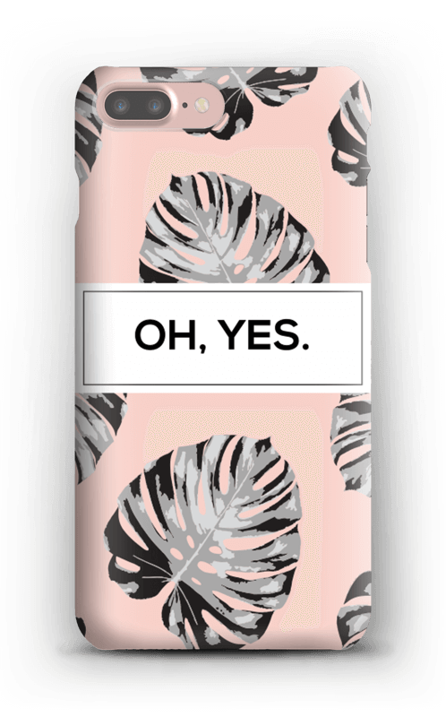 Oh yes saumon Coque  IPhone 7 Plus