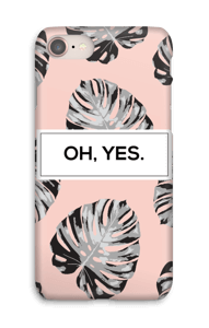 Oh, yes. Salmon  case IPhone 8