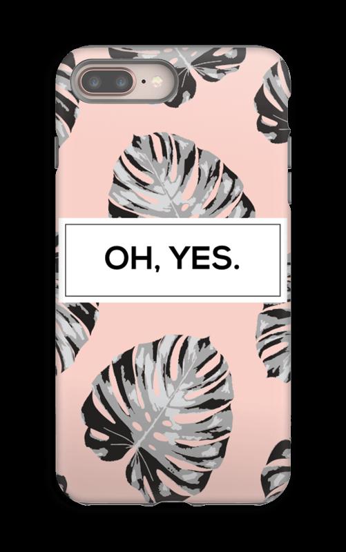Yes-persikka kuoret IPhone 8 Plus tough