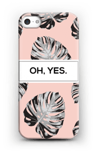 Oh Yes rosa cover IPhone 5/5S