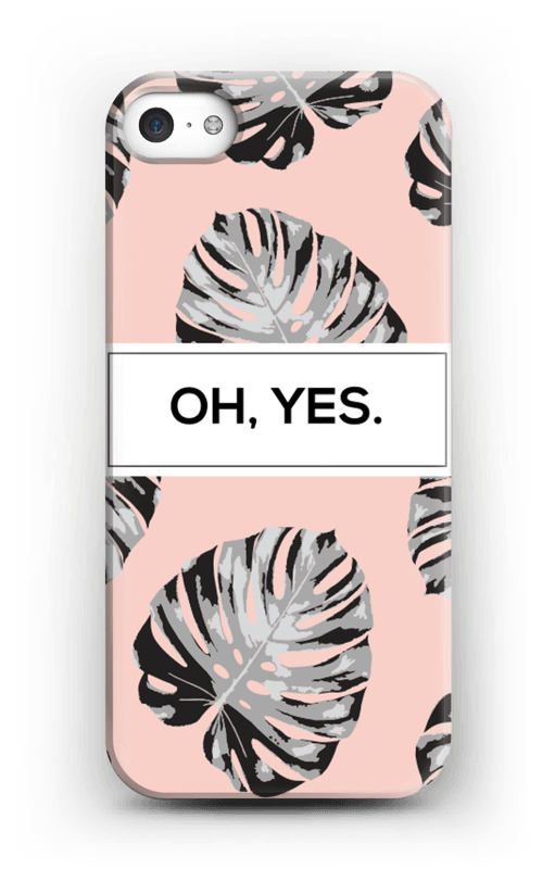 Oh yes saumon Coque  IPhone 5/5S