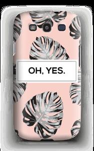 Yes-persikka kuoret Galaxy S3