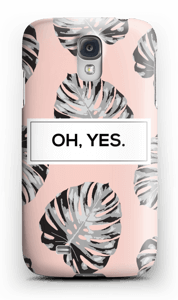 Oh, yes. Salmon  case Galaxy S4
