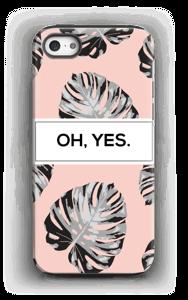 Yes-persikka kuoret IPhone 5/5s tough