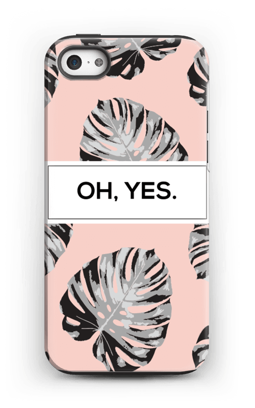 Oh yes saumon Coque  IPhone 5/5s tough