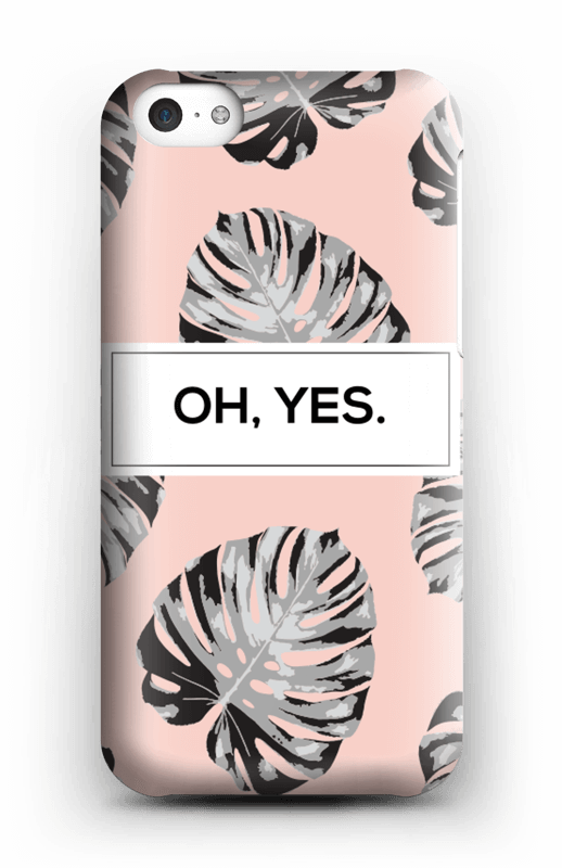Oh yes saumon Coque  IPhone 5c