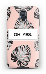 Oh, yes. Salmon  case Galaxy S5