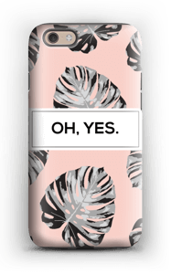 Oh, yes. Salmon  case IPhone 6 tough