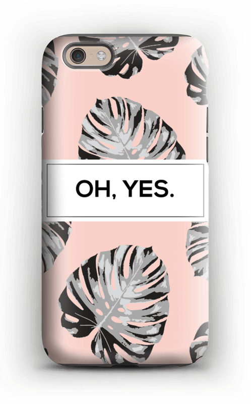 Oh yes saumon Coque  IPhone 6 tough