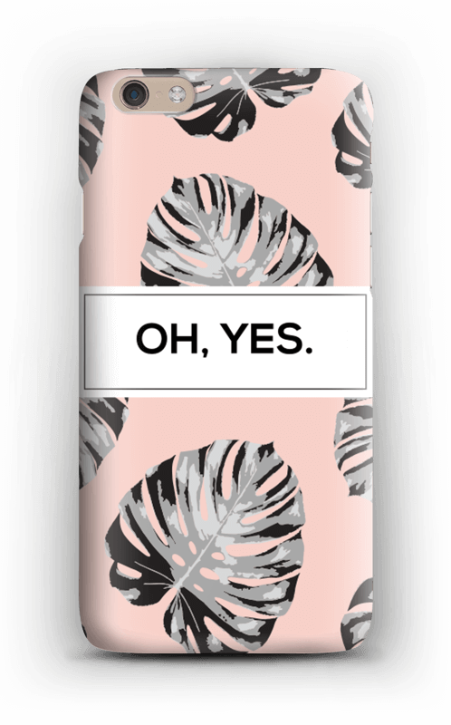 Oh yes saumon Coque  IPhone 6 Plus