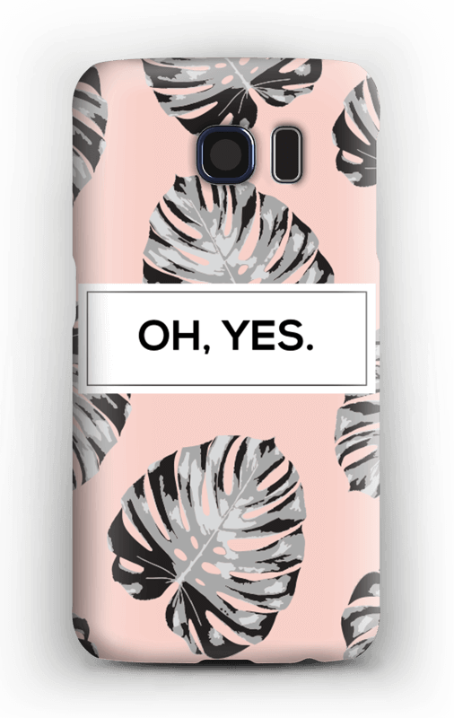 Oh yes saumon Coque  Galaxy S6