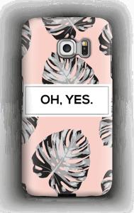 Yes-persikka kuoret Galaxy S6 Edge