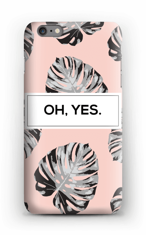 Oh yes saumon Coque  IPhone 6s Plus