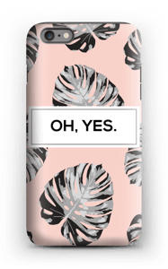 Oh, yes. Salmon  case IPhone 6s Plus tough