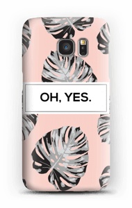 Oh, yes. Salmon  case Galaxy S7