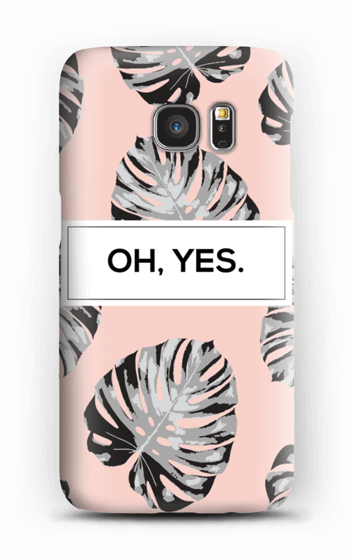 Oh yes saumon Coque  Galaxy S7