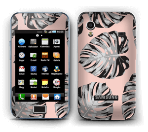 Pink leaves Skin Galaxy Ace
