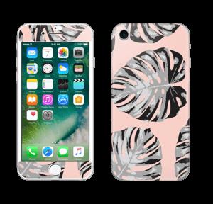 Hojas salmón  Vinilos  IPhone 7