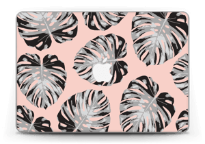 Salmon Leaves Skin MacBook Pro Retina 13