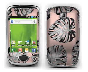 Pink leaves Skin Galaxy Mini