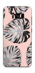 Farnblätter Lachsfarben Skin Galaxy S8