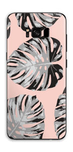 Feuilles saumon Skin Galaxy S8 Plus