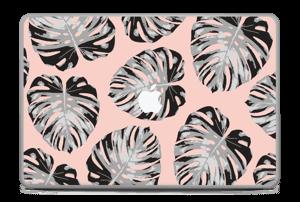 Salmon Leaves Skin MacBook Pro 17