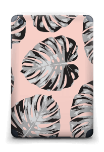 Salmon Leaves Skin IPad mini 2 back