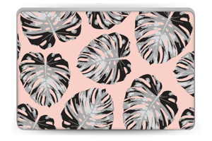 Pink leaves Skin Laptop 15.6