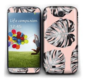 Rosa blad Skin Galaxy S4