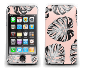 Feuilles saumon Skin IPhone 3G/3GS