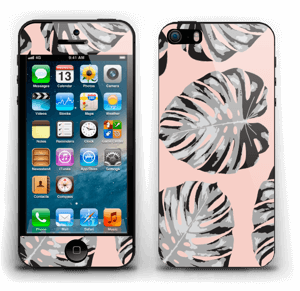 Salmon Leaves Skin IPhone 5s